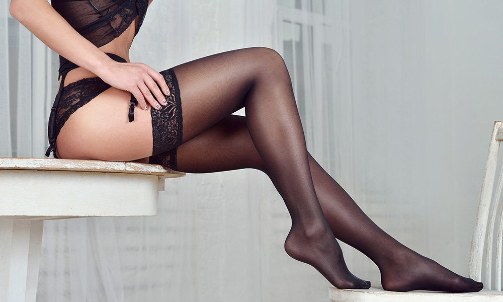 Wearing beautiful lingerie really can make any woman look great and feel desirable.