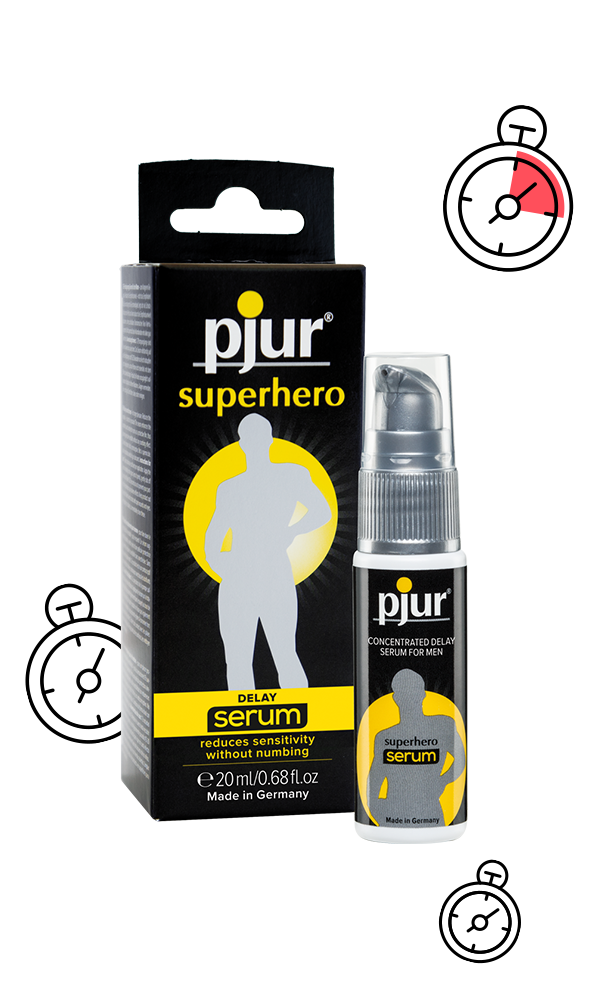 pjur superhero concentrated delay serum